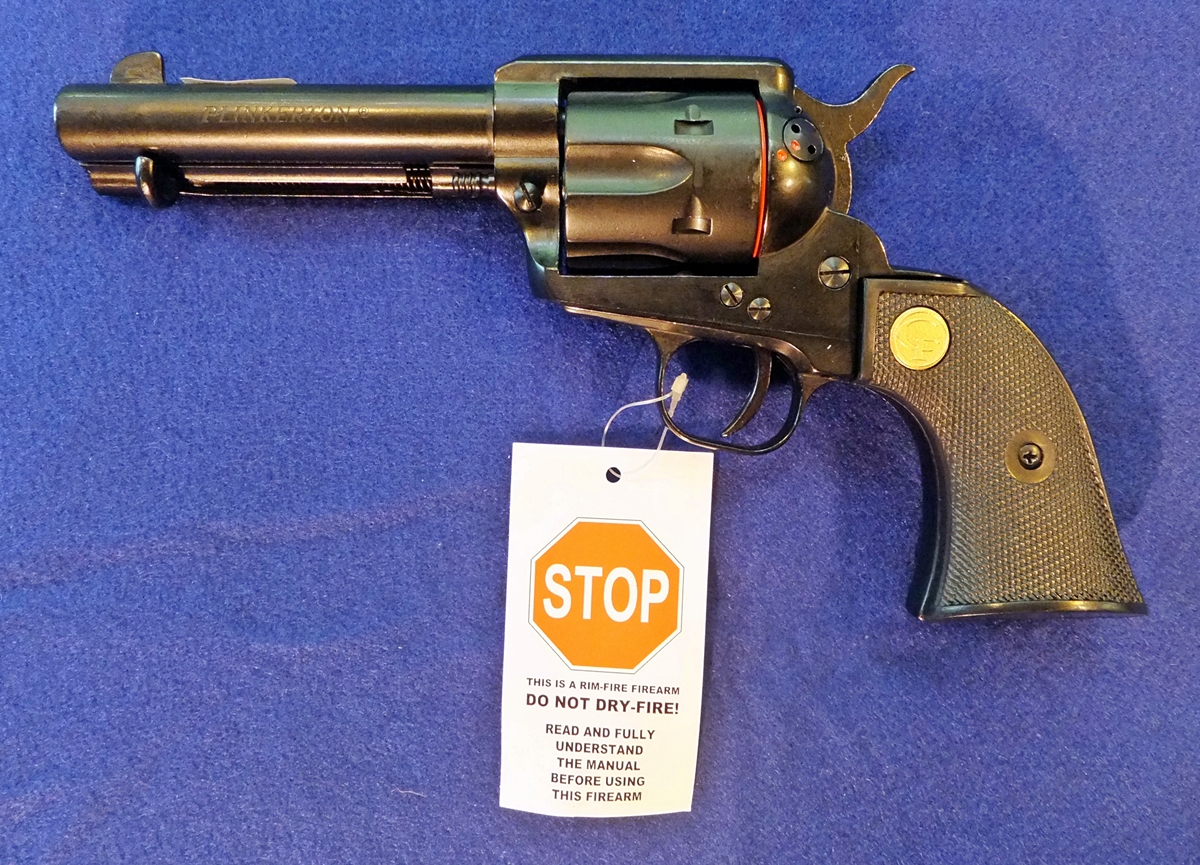 Cimarron Plinkerton .22 Single Action Revolver
