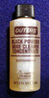 Outers Black Powder Bore Solvent